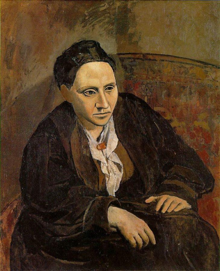 Cuadros en Óleo Originales Retrato de Gertrude Stein de Pablo Picasso