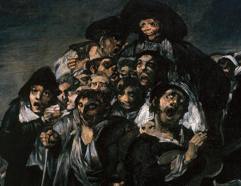 pinturas negras de francisco de goya