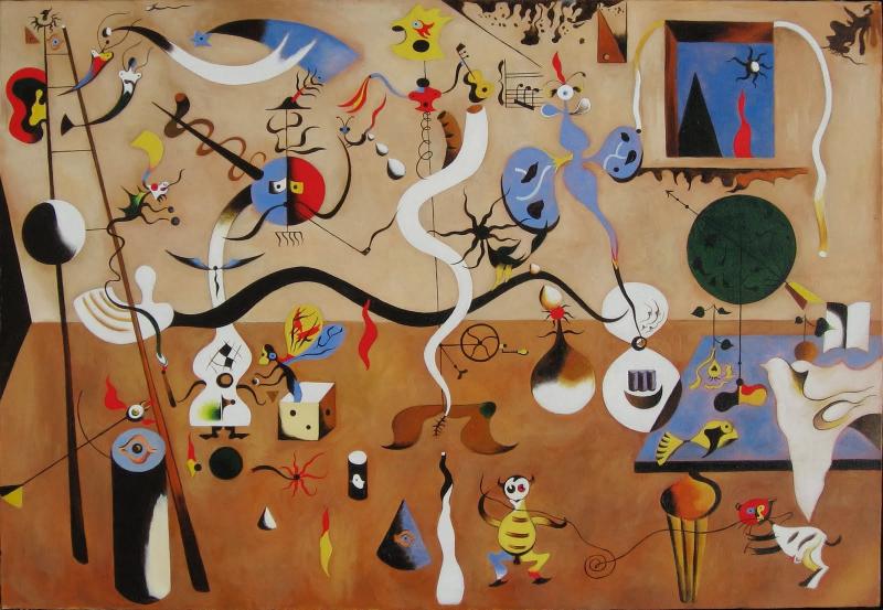 El Carnaval del Arlequín de Joan Miró