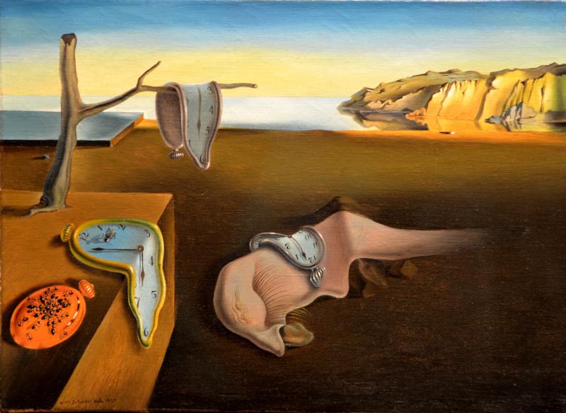 La Persistencia de la Memoria de Salvador Dalí