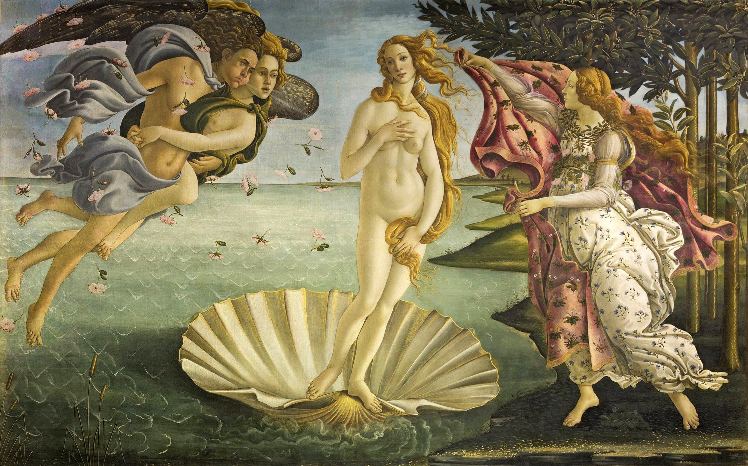cuadros de mujeres desnudas