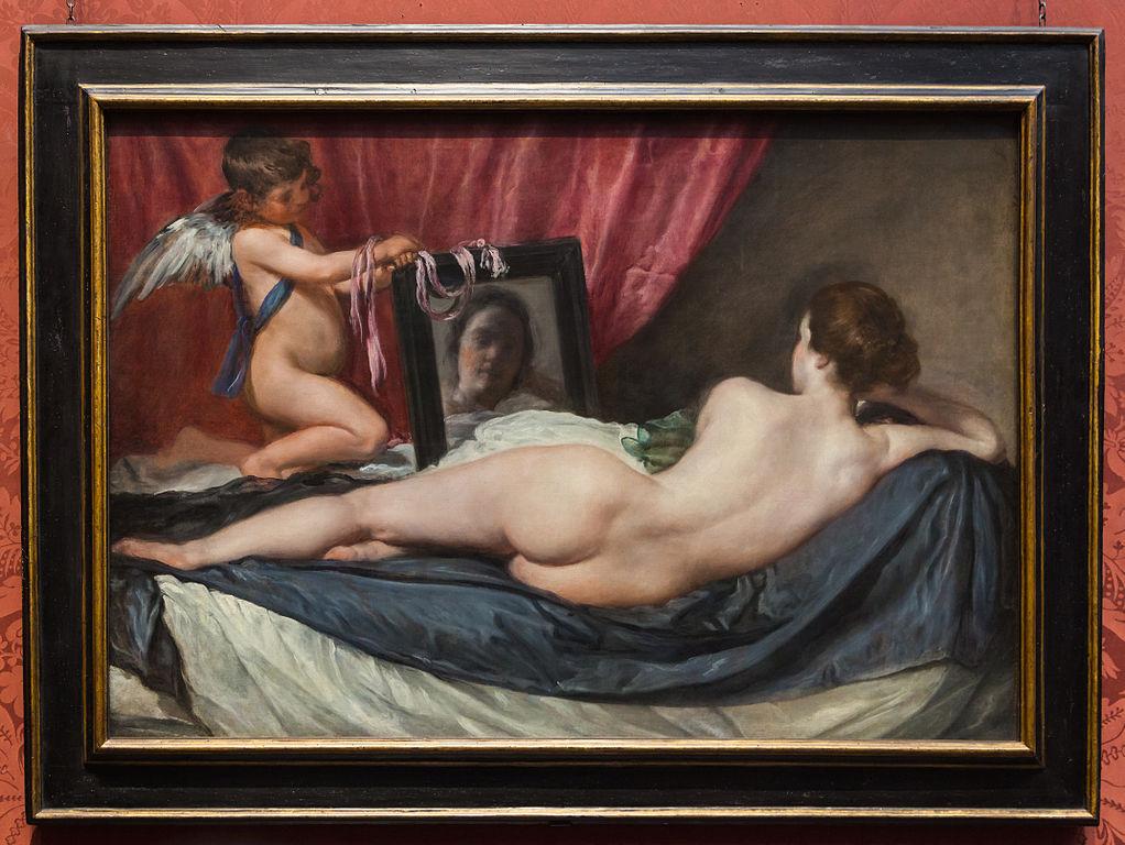 mujeres desnudas en cuadro