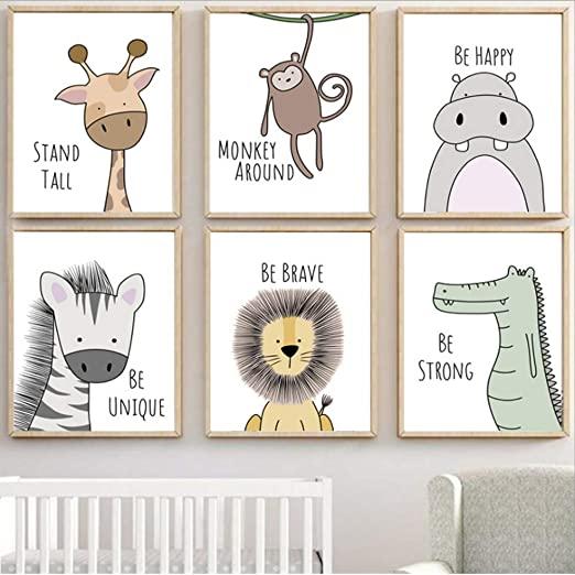 cuadros para niños de animales