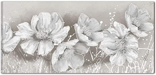 cuadros pintados de flores