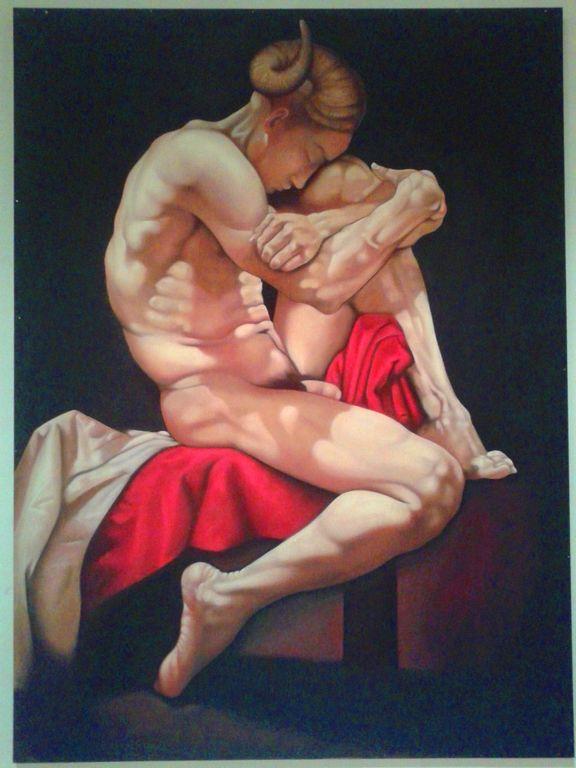 pinturas desnudos