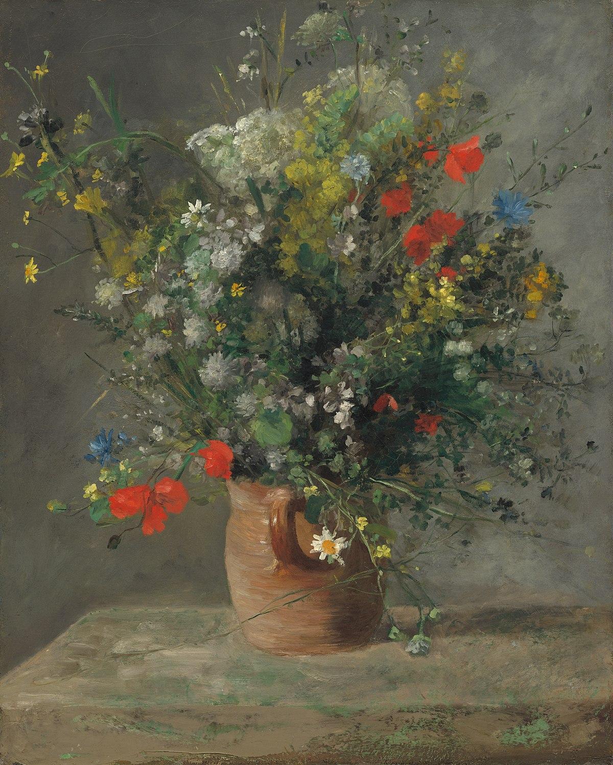 cuadros de flores al oleo cuadros con flores