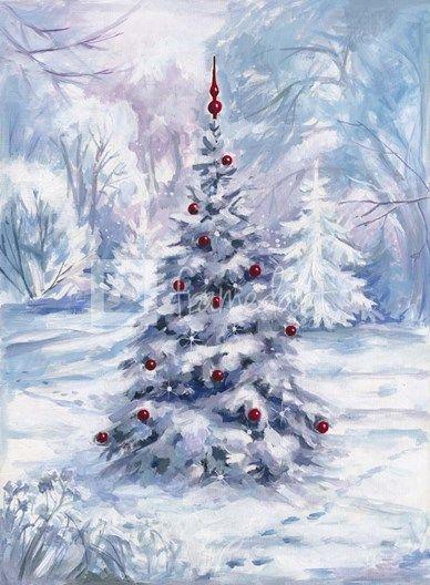 pinturas de navidad