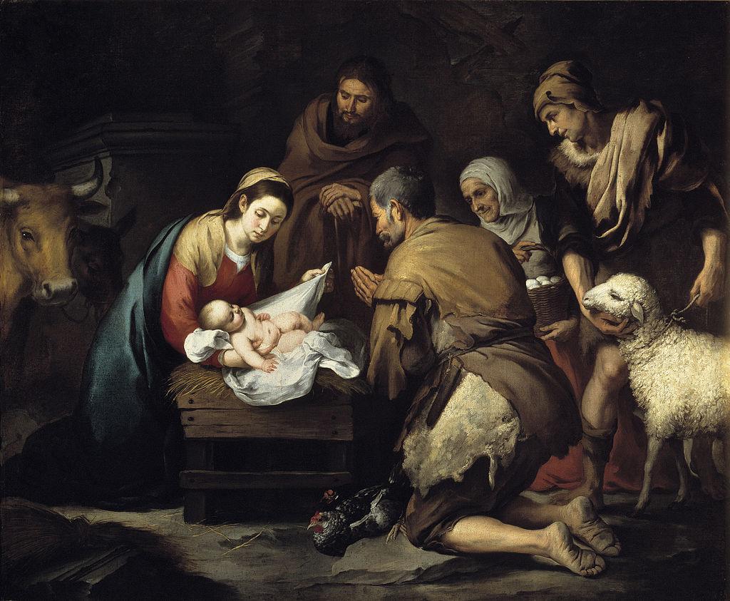 cuadros de navidad de nacimientos
