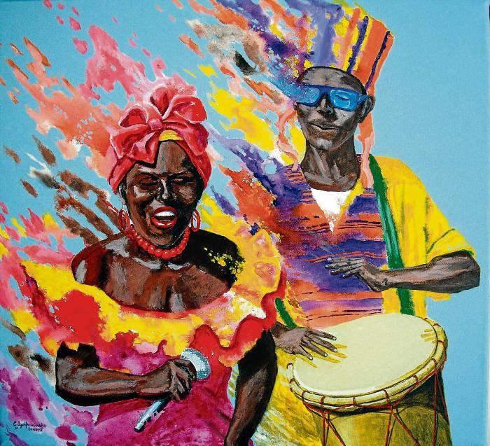 cuadros carnaval de barranquilla