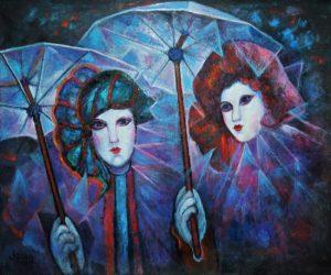 pinturas de carnaval simples