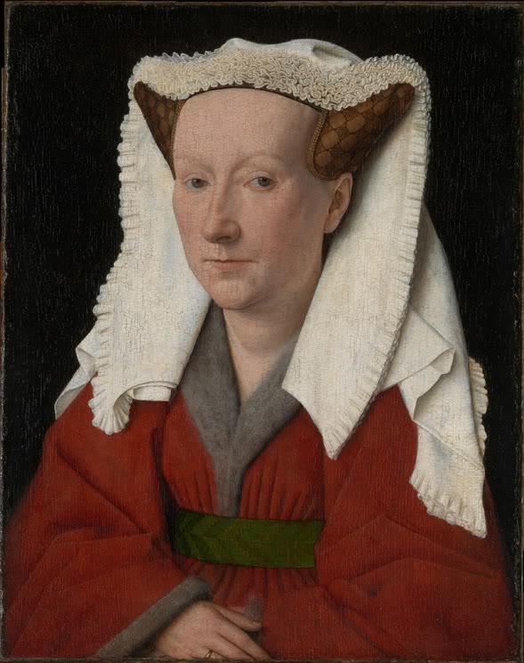 retrato del rostro de una mujer