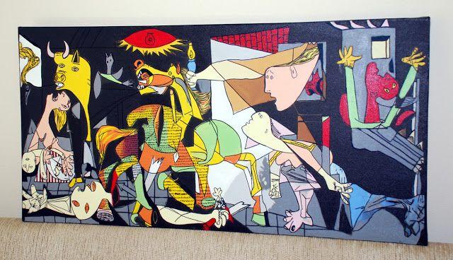 Cuadros de Picasso el Guernica