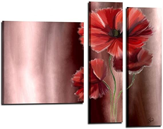 cuadros flores modernos