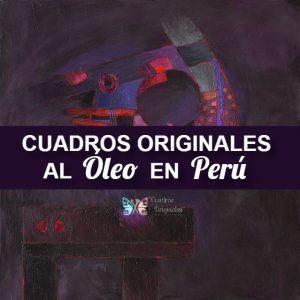 Cuadros Originales al Óleo del Perú de los Pintores más Representativos